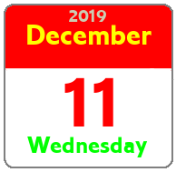 Wednesday December 11th